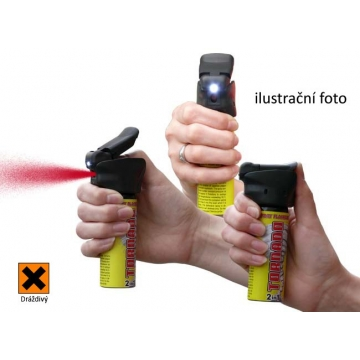 POLICE TORNADO pepřový sprej se světlem 63ml