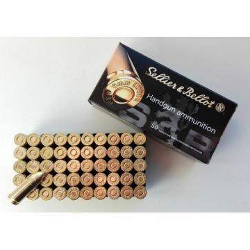 Náboj 9mm LUGER - FMJ 7,5g (115grs) Sellier & Bellot