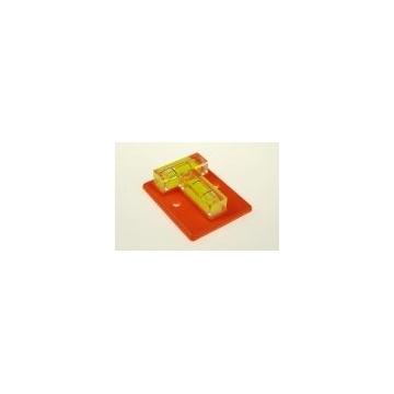 Křížová libela 49,5 x 40 mm (pro montáž optických zařízení)