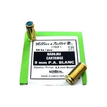 Pistolové střelivo 9 mm P.A. BLANC