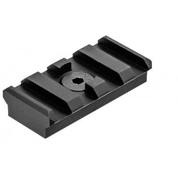 Montážní lišta UTG (Picatinny/Weaver) M-LOK, 4 drážky, černý