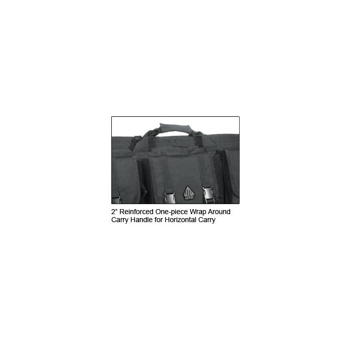"""Pouzdro UTG polstrované pro uložení 2 zbraní, délka 38"""" (91,5 cm) černé"""
