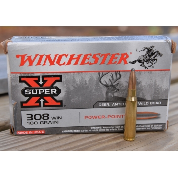 Winchester .308 W PP 180 gr