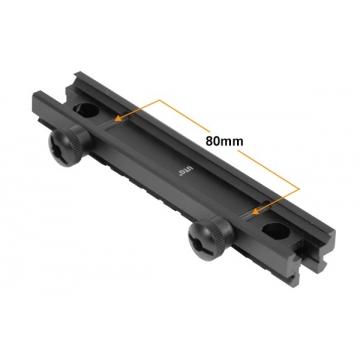 """Montážní zvyšující lišta UTG Low-profile 0,5"""" (1,27 cm)"""