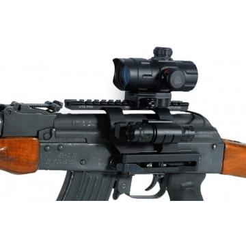 Montáž boční UTG pro AK 47/74 s QD upínáním (2 x Weaver lišta)