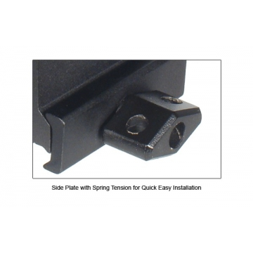"""Montážní lišta pro zvýšení základny UTG HI-profile 1"""" (2,54 cm), Compact"""