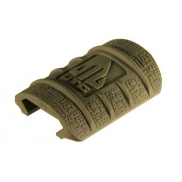 Krytka railu (lišty) UTG (gumová, nízký profil, 12 ks)