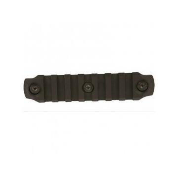 Rail KeyMod od BCM, Nylon, černý 4 inch (10 cm)
