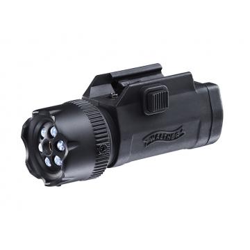 Svítilna s laserem FLR 650, rychlomontáž, 22 mm