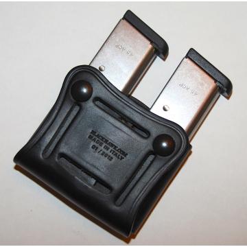 Kožené pouzdro BLACKHAWK na dva dvouřadé zásobníky
