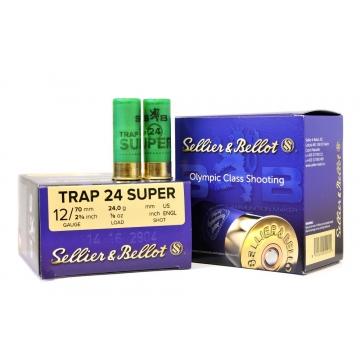 Brokové náboje TRAP 24 SUPER 2,4 mm Sellier & Bellot