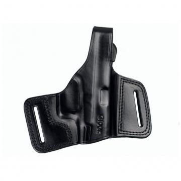Pouzdro na pistoli (kožené) s pojistným páskem, pro praváka, GLOCK 26, 19, 17