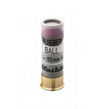 Brokové náboje RUBBER BALL 12/67,5 (17,5mm) Sellier & Bellot