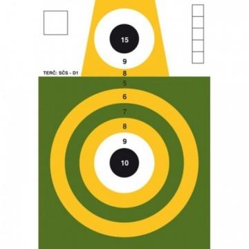 Terč SČS - D1 - papoušek
