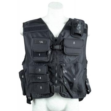 Taktická vesta s pouzdrem na pistoli - model 639