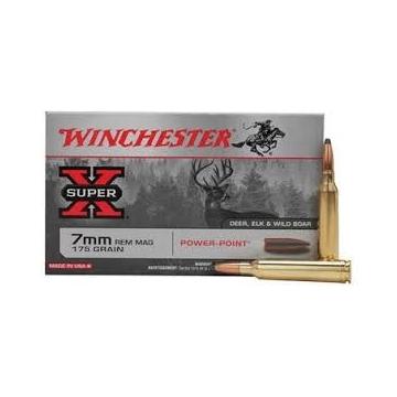 Náboj 7mm REM MAG SUPER X, 175gr. WINCHESTER