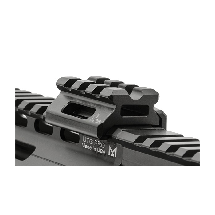 Zvýšená LOW montáž Picatinny 3 SLOTS UTG