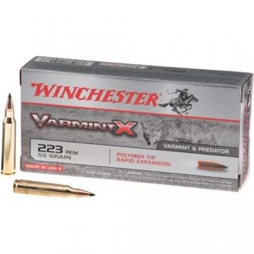 Náboj .223 Rem Varmint X 3,6 g (55 grs) Winchester