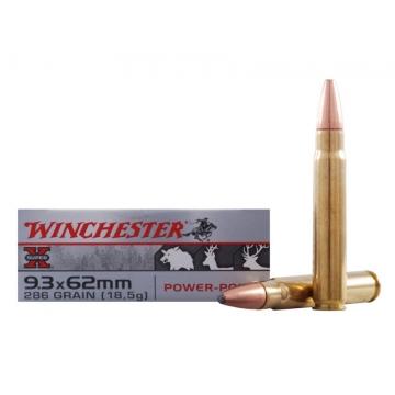 Náboj 9.3 x 62 mm Power-Point 18,5 g (286 grs) Winchester