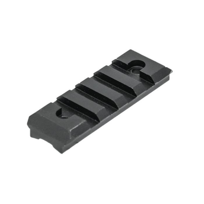 "Montážní lišta UTG (Picatinny), délka 59,4 mm, výška sedla (0,28"") 7 mm"