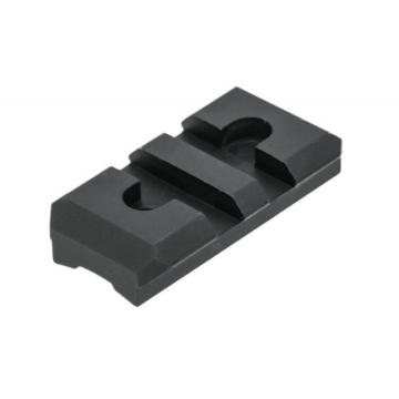 "Montážní lišta UTG (Picatinny), délka 40 mm, výška sedla (0,28"") 7 mm"