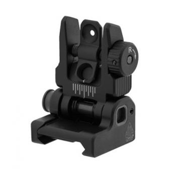 Sklopné (odpružené) hledí (dioptr) pro AR15/M4/M16 – UTG