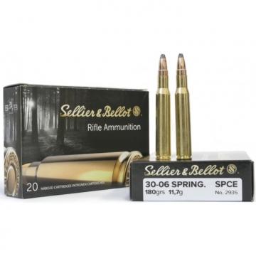 Náboj .30-06 SPRING. - SPCE 11,7 g (180 grs) Sellier & Bellot (20KS)