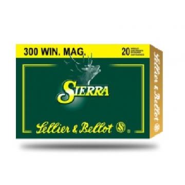 Náboj 300 WIN. MAG. - SBT 12,96 g (200 grs) Sellier & Bellot (20KS)