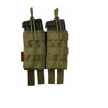 Dvojitá SUMKA AR15/M4, zelený/green, MOLE