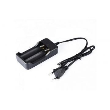Nabíječka pro 1 až 2ks baterií LC18650 3,7V-4,2V
