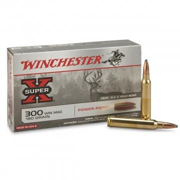 Winchester náboj X SUPER POWER-POINT 300 MIN MAG 180 GRAIN
