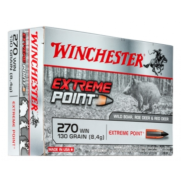 Winchester EXTREME POINT 270 WIN 130 GRAIN (8,4 g)