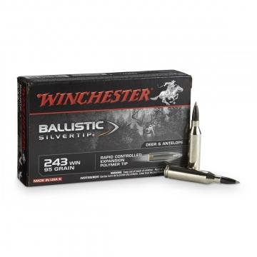 Winchester náboj BALLISTIC SILVERTIP 243 WIN 95 GR