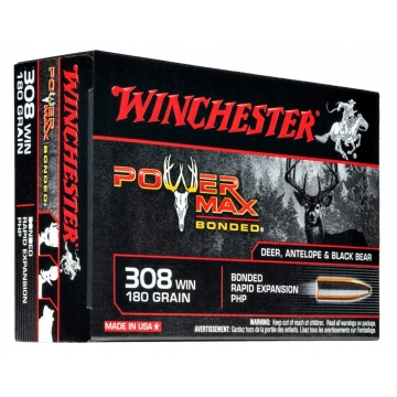 Winchester náboj POWER MAX BONDED 308 WIN 180 GR