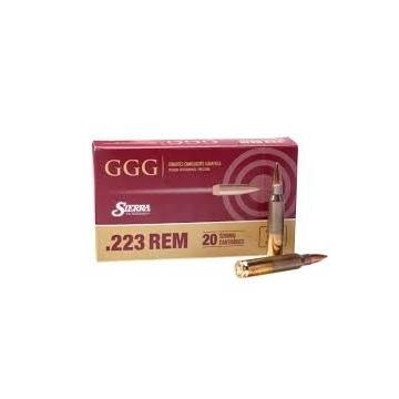 Náboj .223 REM, Siera MatchKing, (77 gr, 4,99 g) GGG