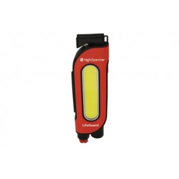 Nightsearcher LIFEGUARD multifunkční svítilna do vozidla, 200 lm, 3AAA