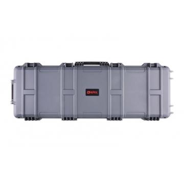Přepravní kufr na dlouhou zbraň 130 cm NUPROL šedý