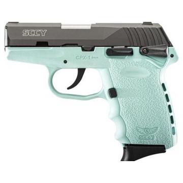 SCCY CPX-1 (9mm Luger) - mentolová