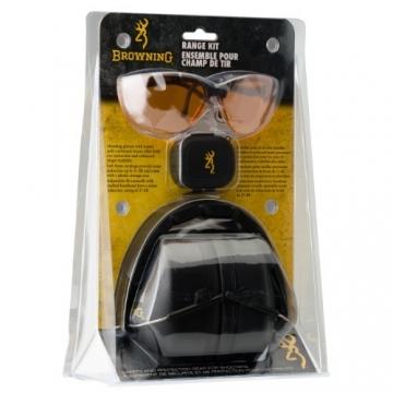 Sada Browning brýle, sluchátka. ucpávka do uší