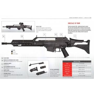 Heckler & Koch HK243 S SAR, .223Rem, RAL