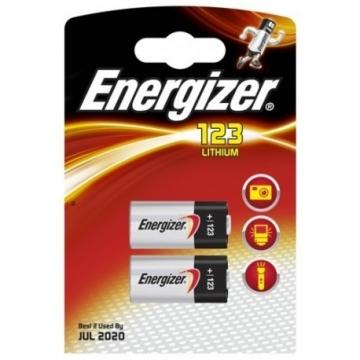 Baterie Energizer 3V, 1300mAh, CR123, CR123A, CR17345, DL123A, EL123AP